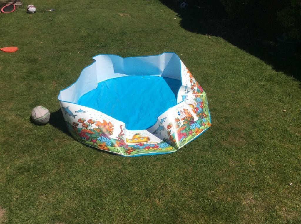 Brand new paddling pool in rhiwbina cardiff gumtree for Elc paddling pool