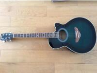Collins Electric Acoustic guitar with Travel Case