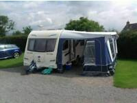 BAILEY BAILEY PEGASUS II VERONA 4 BERTH FIXED BED TOURING CARAVAN