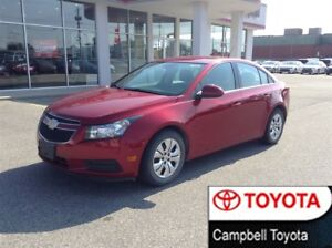 2014 Chevrolet Cruze 1LT--REMOTE START--LOW KM'S--CRUISE