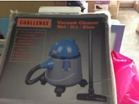 Challenge Wet and Dry Cleaner Full working order. In original box
