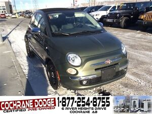 2014 Fiat 500C Lounge Convertible with SUMMER AND WINTER RIMS/TI