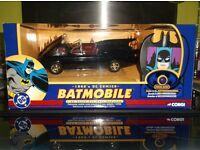 Batmobile/1960;s DC Comics/1.24 scale /bat communicator/Rare /Mint /Corgi