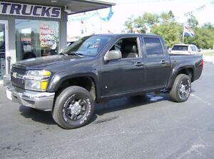 2008 Chevrolet Colorado BLACK ON BLACK !! CREW 4X4