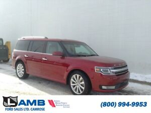 2018 Ford Flex Limited AWD with Vista Roof, Navigation and Adapt