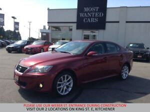 2012 Lexus IS 250 V6 AWD | PADDLE SHIFTERS | XENON HEADLIGHTS