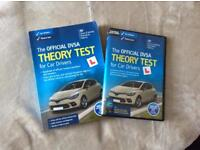 The official DVSA theory Test for Car Drivers Book and DVD