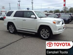 2012 Toyota 4Runner LIMITED--NAV--MOON ROOF--4X4--LOCAL TRADE