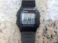 Casio watch 100m waterproof