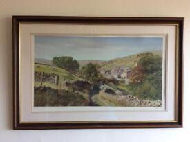 Keith Melling Yorkshire Dales print