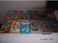 childrens video tapes