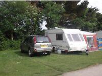 Ralleye 400 GTE/2 Berth Touring Caravan with Motor Mover