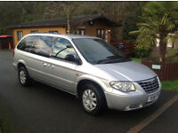 2006 Chrysler Grand Voyager Stow and Go 2.8CRD diesel.