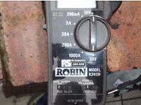 (1 of 2 Lots) Robin K2413F AC Current leakage meter