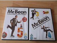 2 Mr Bean Dvds.