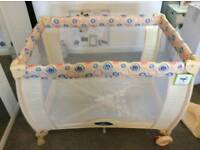 BABY TRAVEL COT BRAND NEW NEVER BEEN USED
