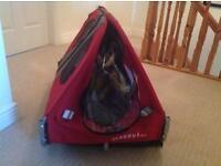 Doggy hut stroller
