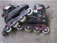 Oxelo Inline skates size 4.5 UK ***Can deliver***