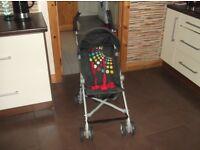 Super-light pushchair for older babies/ toddlers