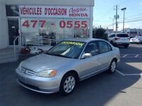 2002 Honda Civic LX-G Automatique A/C TEXTO 514-794-3304