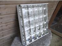 14 x Suspended Recessed Ceiling Light Luminaire Fitzgerald 600 x 600