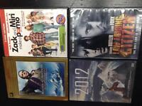 4 DVD lot for sale !