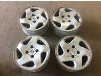Peugeot 206 Alloy Wheels 175-65-14 tryes