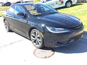 2015 Chrysler 200 S/SPORTY/LEATHER/LOADED