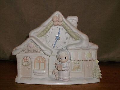 PRECIOUS MOMENTS SUGAR TOWN CLOCK SUGARTOWN COLLECTABLE CHRISTMAS