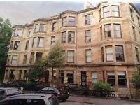 Students - Double rooms available in large West End flat, close to Byres Rd/Glasgow University area.