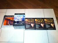 Anthony Robbins Ultimate Edge 3 Part set + Power Talk DVD set