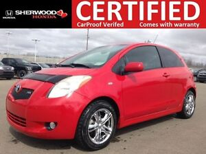 2007 Toyota Yaris RS | ACCIDENT FREE | LOW KMS