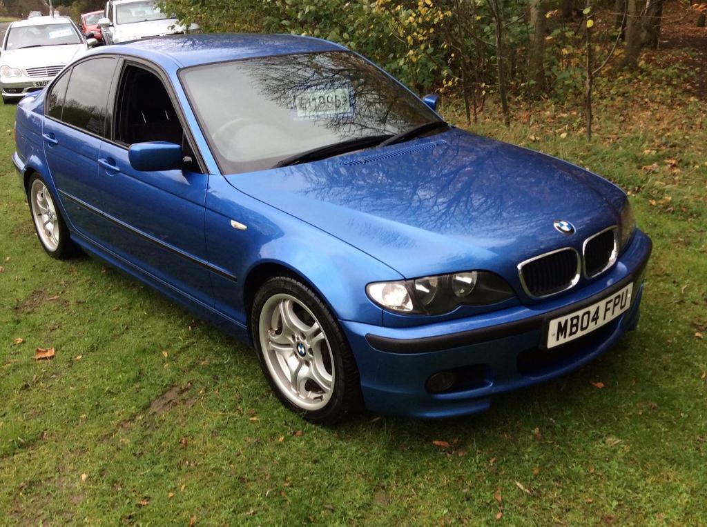 BMW 3 series 318 m sport estoril blue