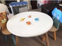 Childrens / Kids Wooden Table and Chairs