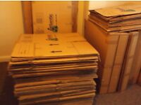 Large cardboard boxes for sale