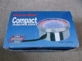 Ocean mist compact aqua light