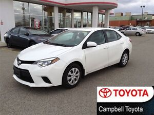 2014 Toyota Corolla LE ECO VERY LOW KM'S--1 OWNER--CLEAN CAR PRO