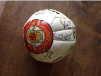 Manchester United signed football circa 1997