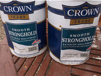 scorched earth masonry paint for sale crown make