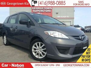 2010 Mazda MAZDA5 GS | 6 PASS | ALLOY WHEELS | POWER GROUP