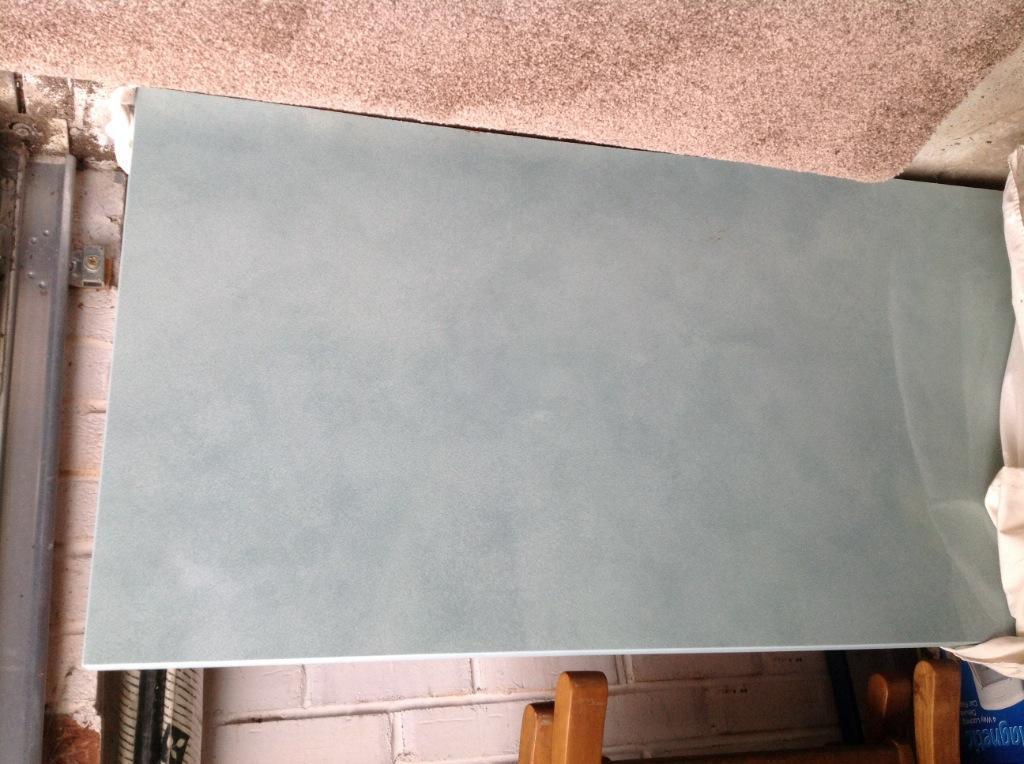 Cracked Glass Worktop Kitchen Worktop 3metre Cracked