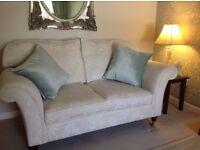 Laura Ashley Mortimer Large Ashino Natural fabric sofa RRP £1750