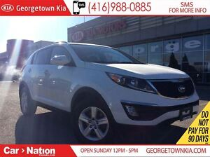 2014 Kia Sportage LX | BLUETOOTH | ALLOY WHEELS | HEATED SEATS |