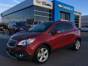 2015 Buick Encore Leather | Bluetooth | Rear Cam | Woodgrain Tri