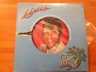 "ELVIS PRESLEY - 1979 Vinyl 12"" Single - IT WON'T SEEM LIKE CHRISTMAS WITHOUT YOU"