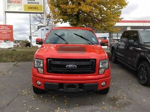 2013 Ford F-150 FX4, LEATHER, SUNROOF, BACK UP CAM  **NO ADMIN F
