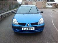 RENAULT CLIO EXPRESSION 16V - MID NIGHT BLUE - 2 OWNERS FROM NEW - MOT -