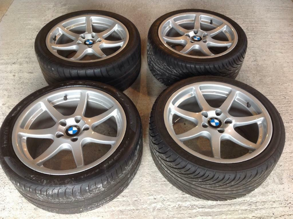 4x Breyton Vision Bmw 18x8 5 Alloy Wheels With Bmw Centre