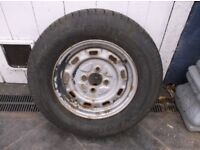 165x13 wheel with excellent tyre