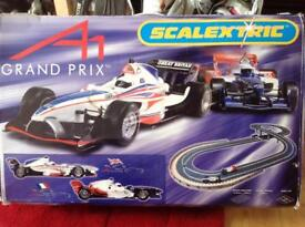 Scalextric Grand Prix set complete and working.